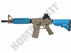 CM506 Electric Airsoft Rifle M4 CQB Carbine AEG BB Machine Gun Alloy Gear Box Tan & 2 Tone